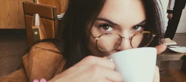Kendall Jenner hatte mit Akne zu kämpfen.