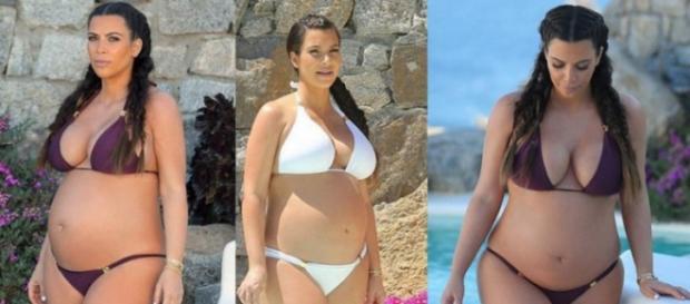 Kim Kardashian se sigue quejando de su embarazo