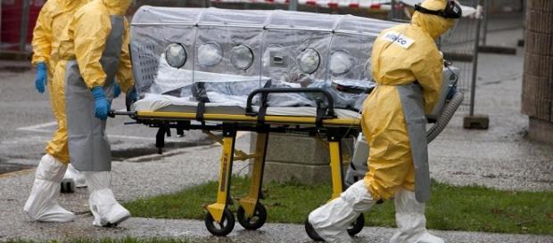 Llegada del paciente al hospital. EFE