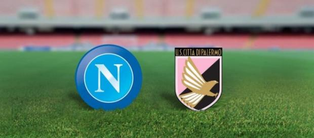 Napoli and Palermo tonight at San Paolo