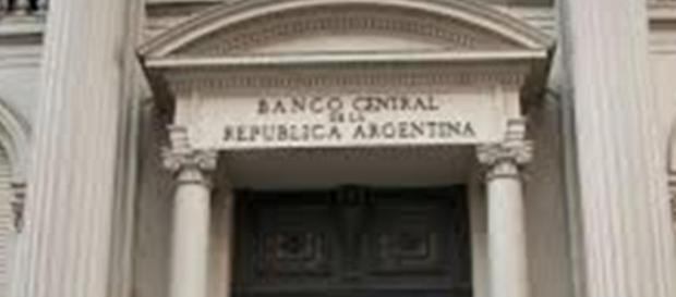 puerta Banco Central de la República Argentina