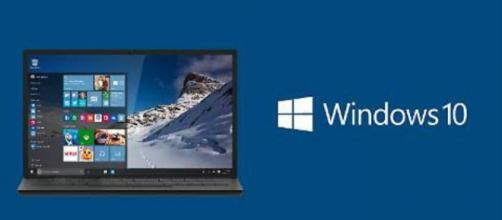 Il logo di Windows 10 di Microsoft