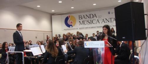 Início do Concerto da Banda de Antas