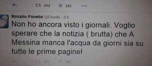 L'appello di Fiorello su Twitter