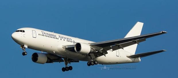 Avión de la compañía Dynamic Airways