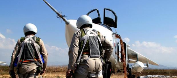 Força Aérea russa se prepara para lançar ataques