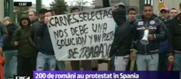 Peste 200 de români au ramas pe drumuri