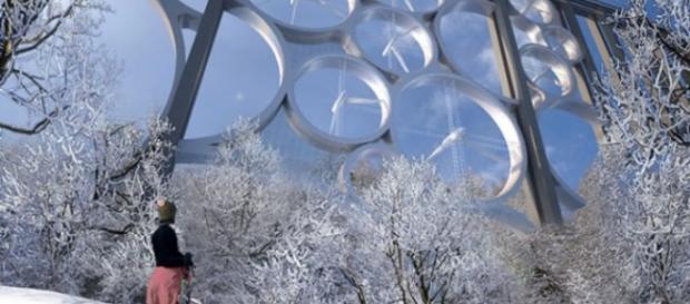 Projeto prevê instalação de turbinas eólicas