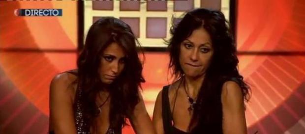 Raquel y Maite en imagen de archivo