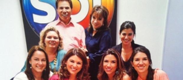 Rixa de filhas de Silvio Santos