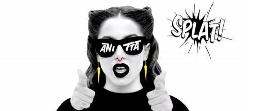 Anitta em 'Bang'/imagem divulgação.
