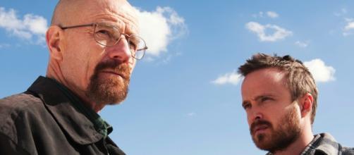 Walter e Jesse protagonisti di Breaking Bad