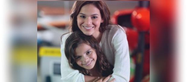 As irmãs Luana e Bruna Marquezine são muito unidas