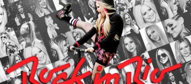 Avril Lavigne foi a grande campeã da votação Pepsi