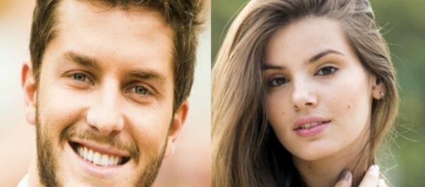 Camila e Kleber farão par romântico em novela