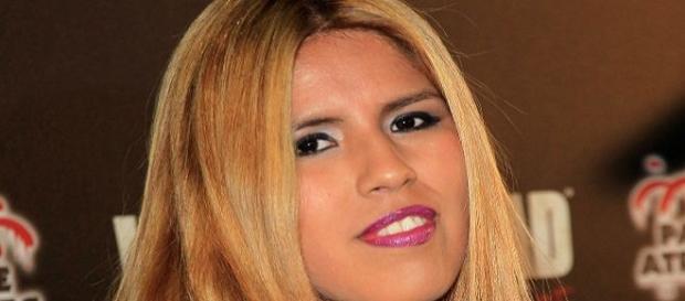 Chabelita posa en un photocall