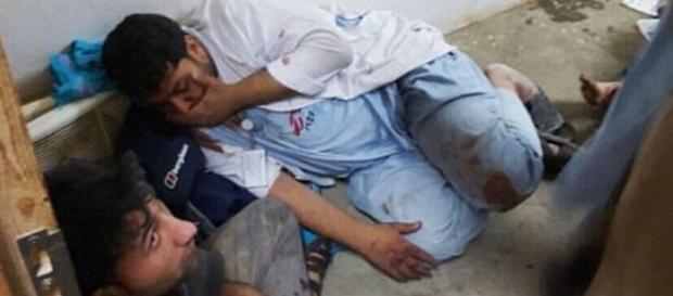 Medici în stare de şoc după atacul din Kunduz