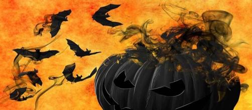 Bats and jack-o-lanterns a fixture for Halloween.