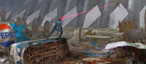 Concept art con Cíclope, Tormenta y Jean Grey