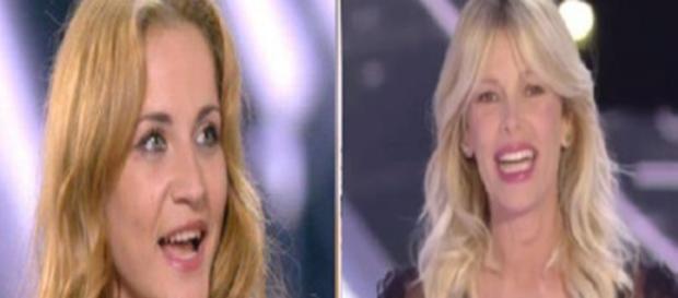 Alessia Marcuzzi senza frena in diretta