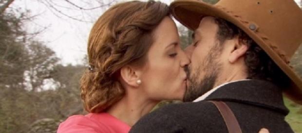 Anticipazioni Il Segreto: Conrado bacia Alicia
