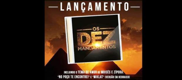 CD Os Dez Mandamentos, Rede Record.