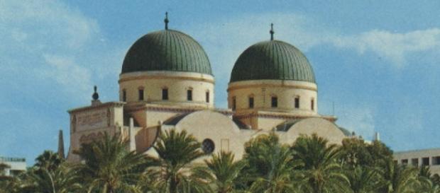 Fotografía de la catedral de Bengasi