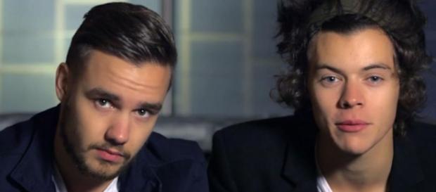 Liam Payne gritou com Harry Styles.