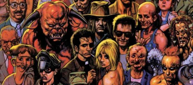 Preacher y los personajes de la serie.