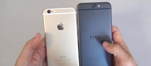 Confronto tra HTC One A9 ed iPhone