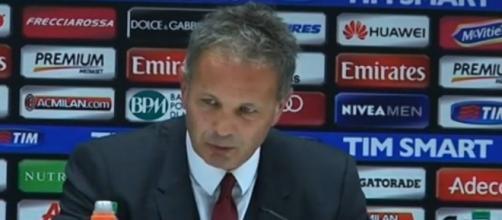 Lazio-Milan, serie A 1 novembre 2015: Mihajlovic