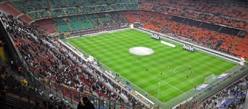 Lo stadio 'San Siro' di Milano