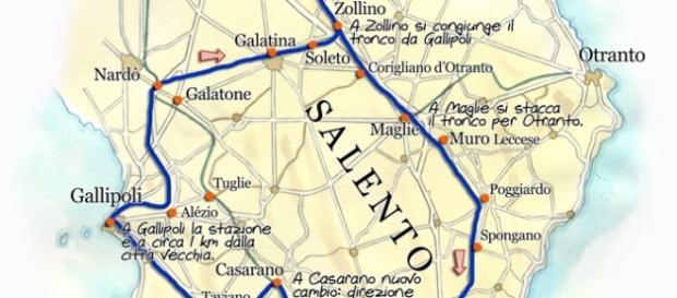 Il Salento attrae molti turisti.