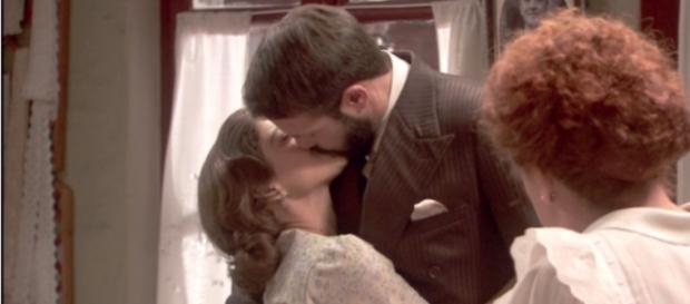 Il Segreto: Candela bacia Severo