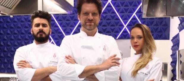 O chef Carlos Bertolazzi comanda o Hell's Kitchen