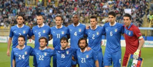 Andrea Pirlo na seleção italiana, em 2014.