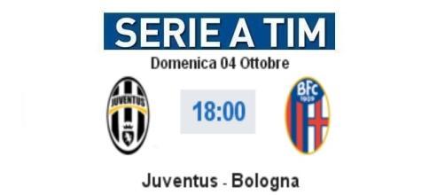 Juventus - Bologna in diretta live su BlastingNews