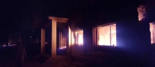 Ospedale Msf colpito a Kunduz (foto @MSF_ITALIA)