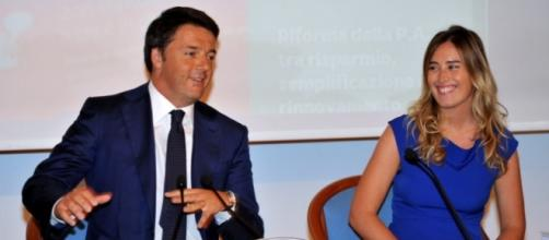 Renzi e Boschi al lavoro sulle riforme