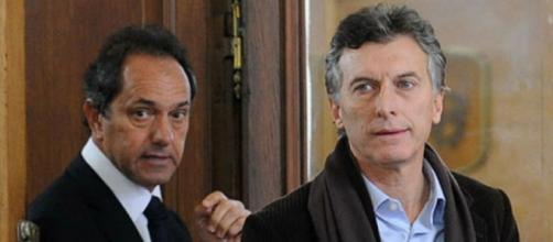 Scioli y sus grandes diferencias con Macri