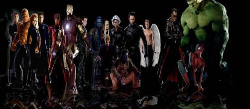 Superhéroes de los cómics de Marvel