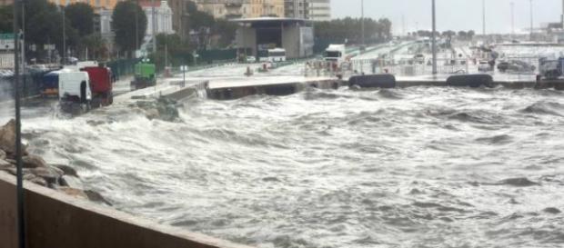 Forte perturbazione colpisce la Costa Azzurra