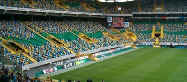 Jogo em directo a partir do Estádio de Alvalade.