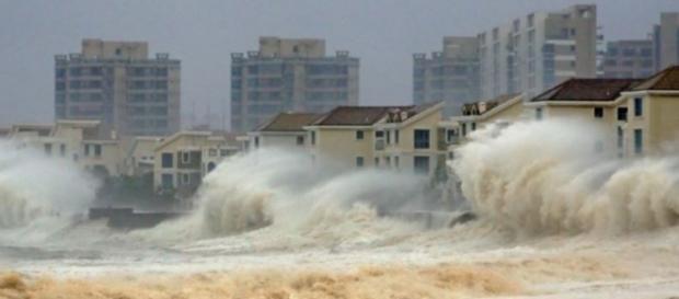 Taifunul Mujigae lovind sudul Chinei