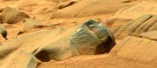 Immagine della stranezza di Marte