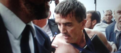L'agressione a Xavier di Air France