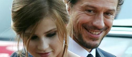 La coppia: Stefano Accorsi e Bianca Vitali