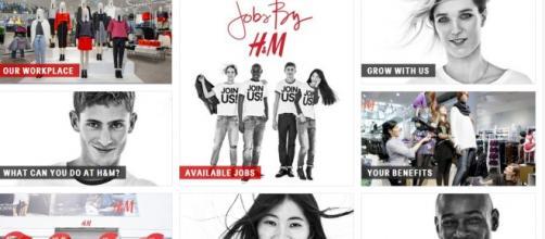 Stage nello sviluppo dei prodotti del marchio H&M