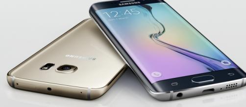 Un'immagine del Galaxy S6 Edge