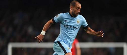 Zabaleta in maglia Manchester City